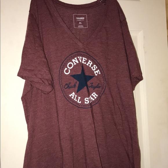 Converse Tops - Women s converse tee. Size XL. 29ebe08726